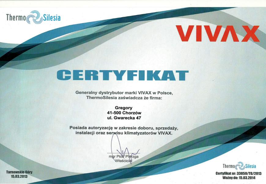 certyfikat-Vivax